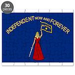 Flag of Alabama 1861-1865 obv Puzzle