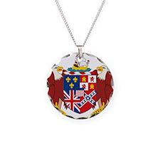 COA of Alabama Necklace Circle Charm