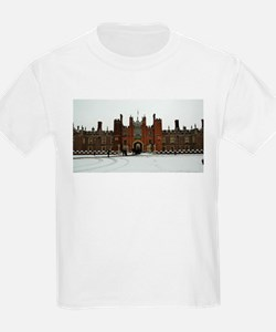 Hampton Court Palace in the Snow T-Shirt