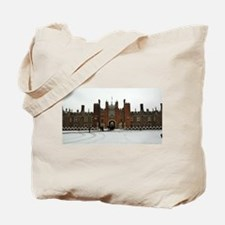Hampton Court Palace in the Snow Tote Bag