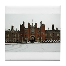 Hampton Court Palace in the Snow Tile Coaster