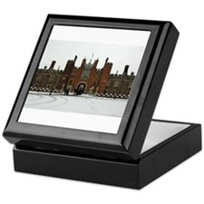 Hampton Court Palace in the Snow Keepsake Box