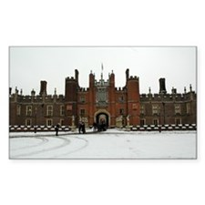 Hampton Court Palace in the Snow Decal