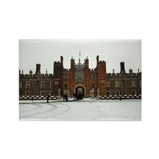 Hampton Court Palace in the Snow Rectangle Magnet