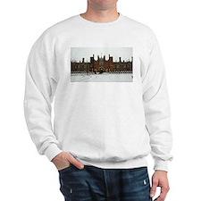 Hampton Court Palace in the Snow Sweatshirt