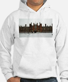 Hampton Court Palace in the Snow Hoodie