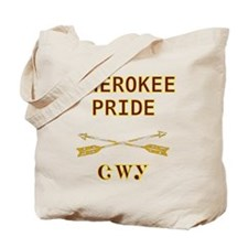 Cherokee Pride With Arrows Tote Bag