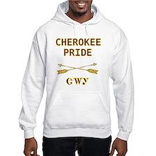 Cherokee Pride With Arrows Hoodie