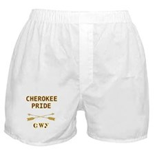 Cherokee Pride With Arrows Boxer Shorts