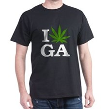 I Love Cannabis Georgia T-Shirt
