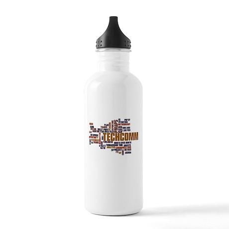 Tech Comm h20 Bottle Stainless Water Bottle 1.0L