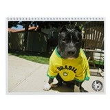 Pit bull rescue Wall Calendars