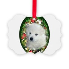 Cute Esquimaux dog Ornament