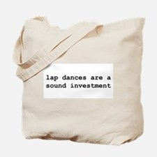 """lap dances"" Tote Bag"