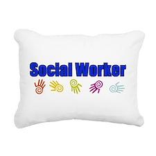 Social Work B Rectangular Canvas Pillow