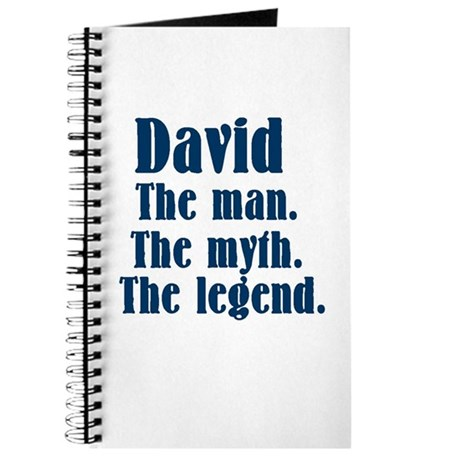 David The man. Journal