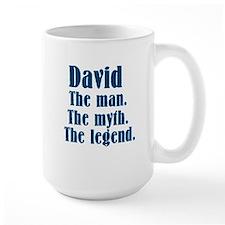 David The man. Mug