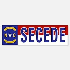 Secede - NORTH CAROLINA Bumper Bumper Sticker