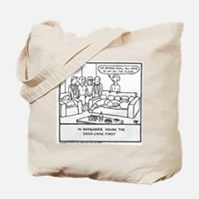 Sit On The Floor - Tote Bag