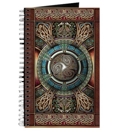 Triskelion Mandala Journal