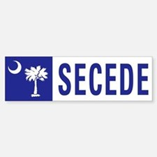Secede - SOUTH CAROLINA Bumper Bumper Sticker