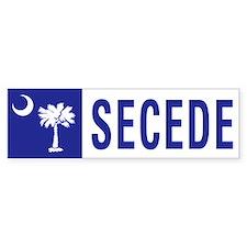 Secede - SOUTH CAROLINA Car Sticker