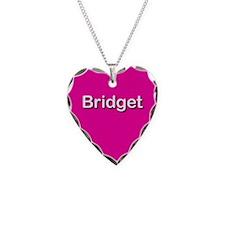 Bridget Pink Heart Necklace Charm