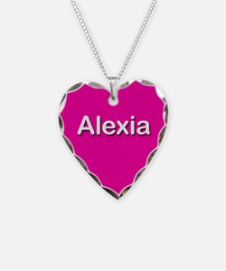 Alexia Pink Heart Necklace Charm