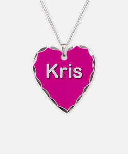 Kris Pink Heart Necklace Charm