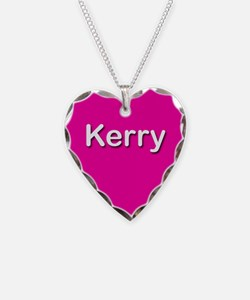 Kerry Pink Heart Necklace Charm