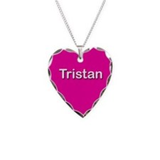 Tristan Pink Heart Necklace Charm