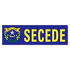 Secede - NEVADA Bumper Sticker