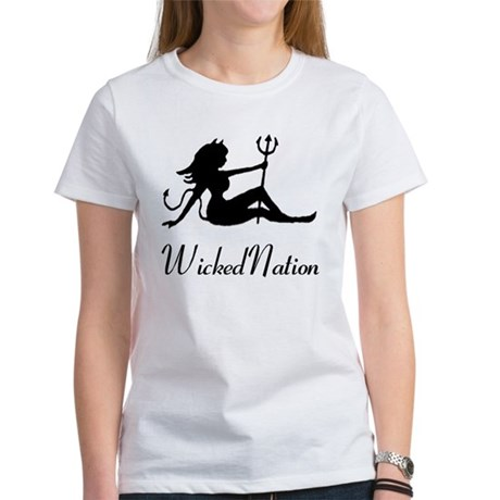 Wicked Nation Logo T T-Shirt