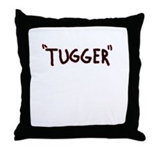 tugger boat shirt Throw Pillow