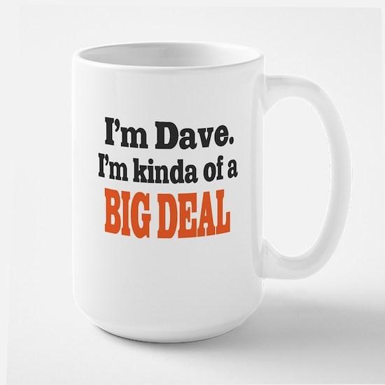 Big Deal (Orange) Large Mug