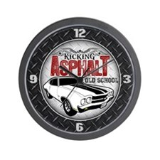 Kicking Asphalt - Chevelle Wall Clock