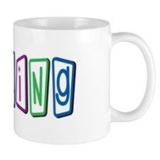 Bowling Letters Mug