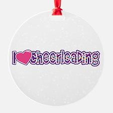 I love Cheer Ornament