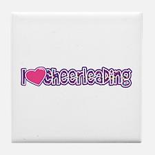 I love Cheer Tile Coaster