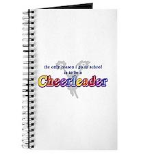 Cheerleading Go To School Journal