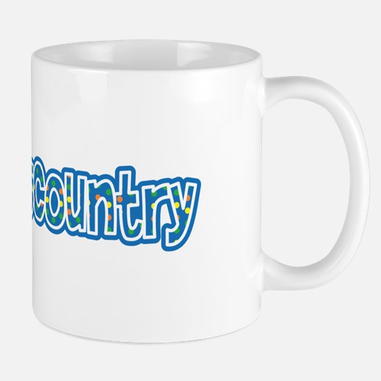 I Love Cross Country Mug