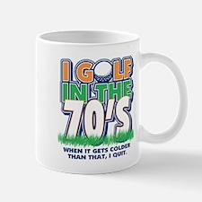 Golf I Golf In The 70s Mug