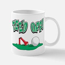 Golf Teed Off Mug
