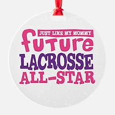 Lacrosse Future All Star Girl Ornament