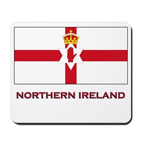 Northern Ireland Flag Gear Mousepad