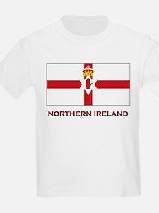 Northern Ireland Flag Gear Kids T-Shirt