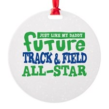 Future Track All Star Boy Ornament