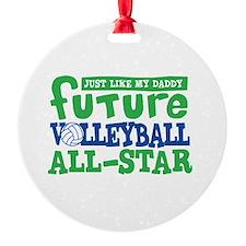 Future All Star Volleyball Boy Ornament
