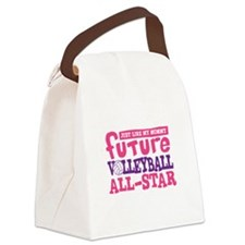 Future All Star Volleyball Girl Canvas Lunch Bag