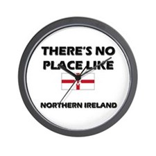 There Is No Place Like Northern Ireland Wall Clock